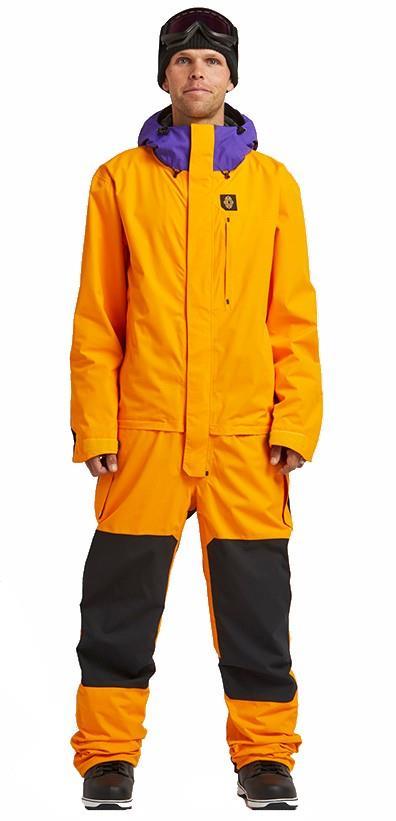 Airblaster Ski/Snowboard One Piece Suit, L Mango