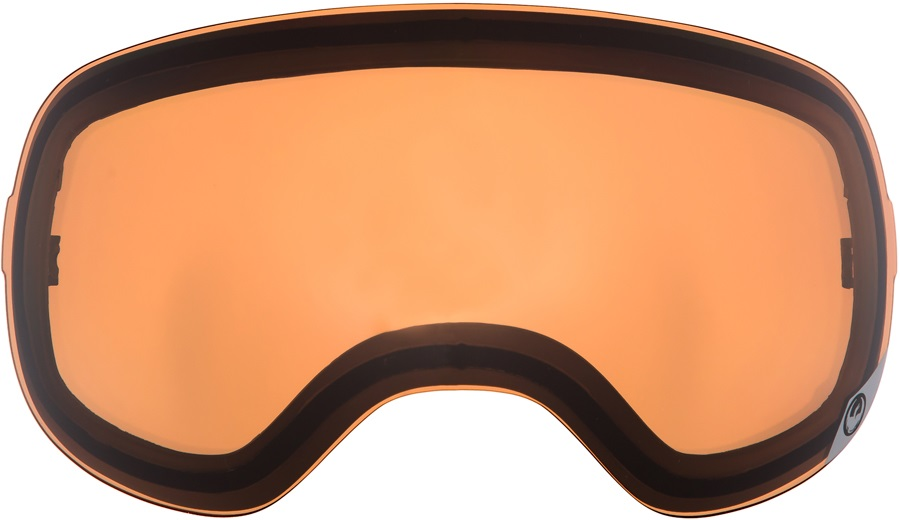 Dragon X1s Snowboard/Ski Goggle Spare Lens LumaLens Amber