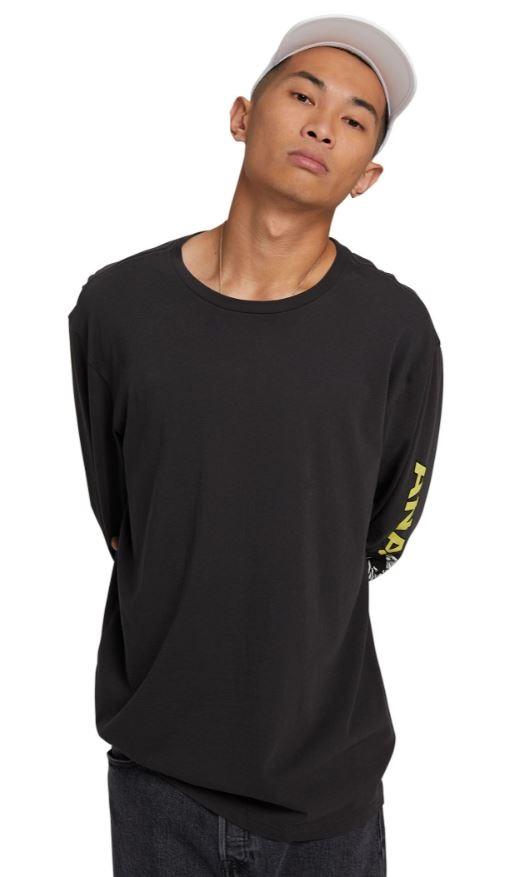 Analog Adult Unisex Blackthorn Long Sleeve T-Shirt, M Phantom