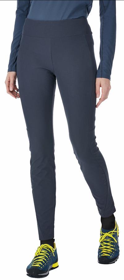 Rab Elevation Pants Reg Women's Climbing Trousers, UK 10 Beluga