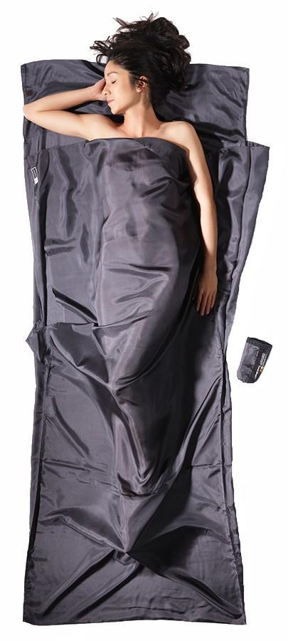Cocoon Insect Shield TravelSheet Silk Sleeping Bag Liner, Rhino