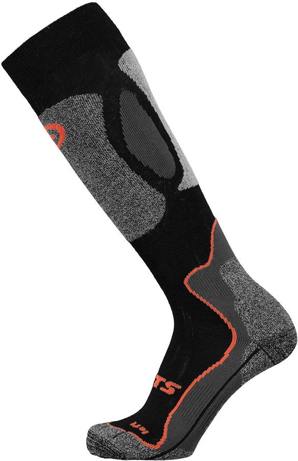 Barts Advanced Ski/Snowboard Socks UK 2-5 Black