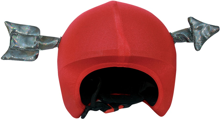 Coolcasc Show Time Ski/Snowboard Helmet Cover, One Size, Arrow