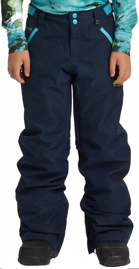 Burton Stark Gore-Tex Pants Kid's Snowboard/Ski Trousers, M Dress Blue