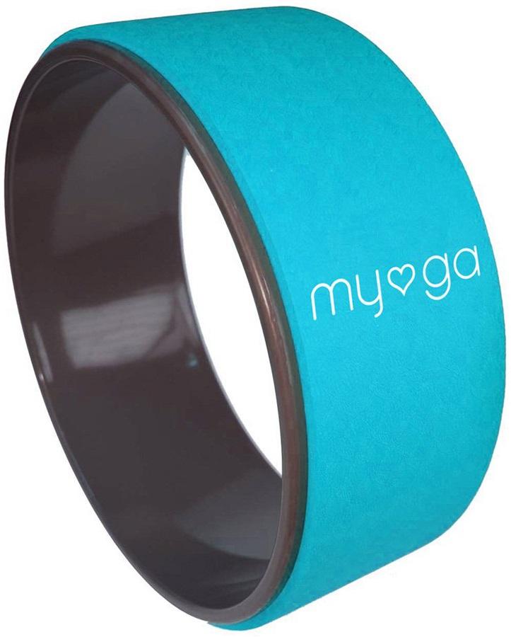 Myga Back To Basics Yoga Wheel, Turquoise
