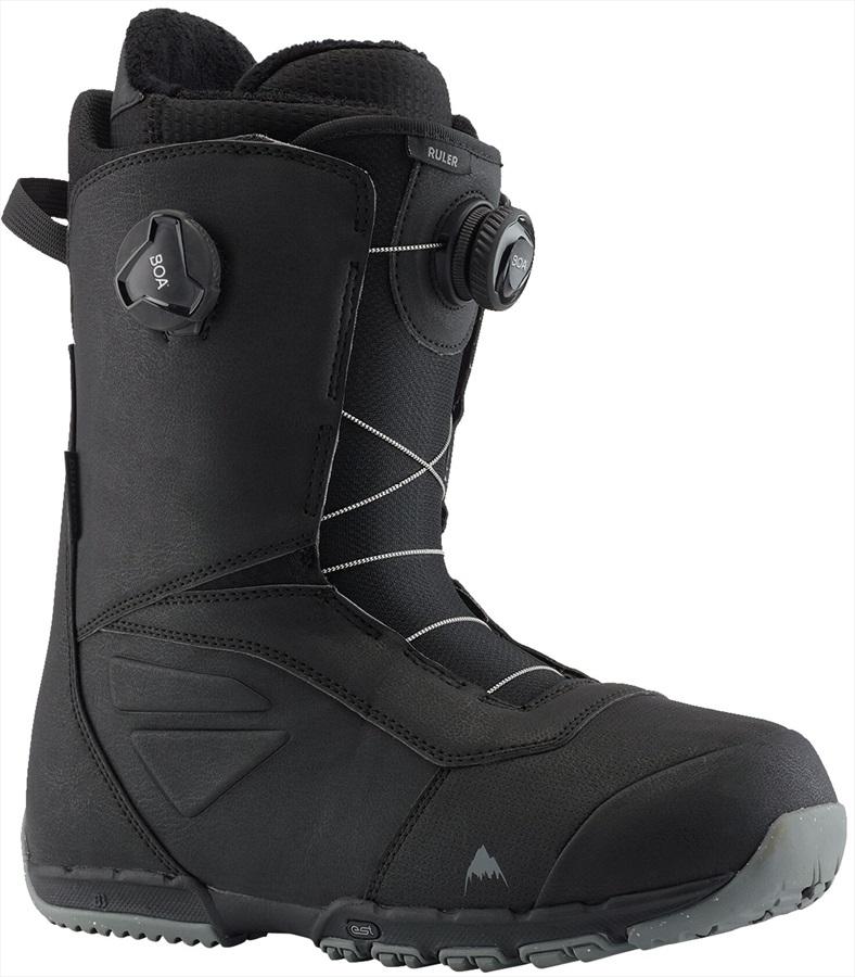 Burton Ruler Boa Men's Snowboard Boots, UK 12 Black 2021