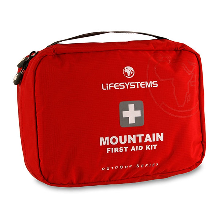 Lifesystems Mountain Portable First Aid Kit 52 items Red