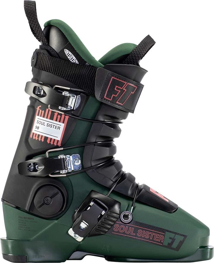 Full Tilt Soul Sister 90 Women's Ski Boots, 23/23.5 Green/Black 2022