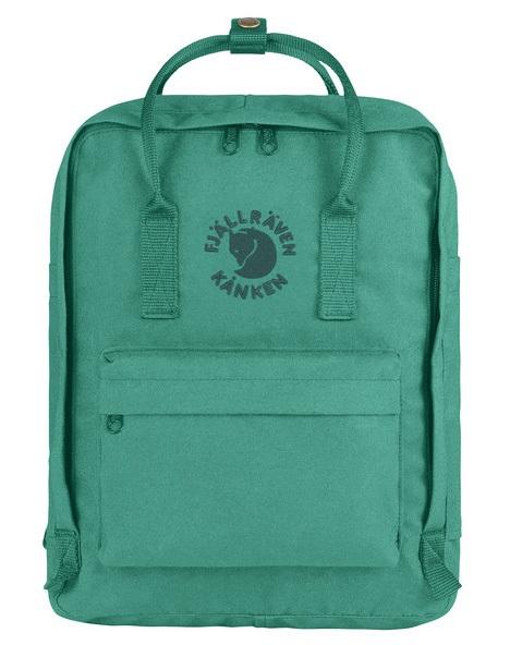 Fjallraven Re-Kanken Backpack, 16L Emerald