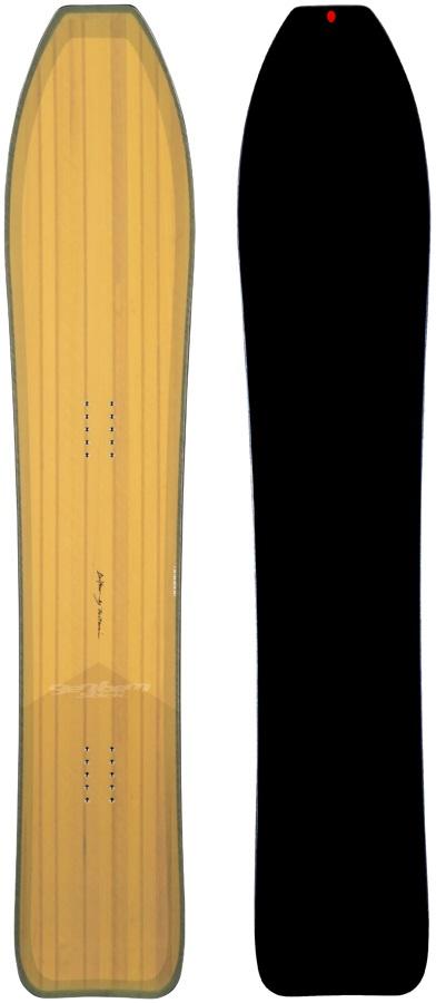 Gentemstick Drifter Flat Camber Snowboard, 155cm 2021