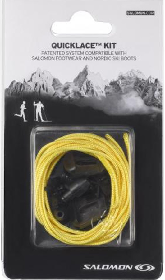 Salomon Quicklace Snowboard Boot Replacement Lace Kit One Size Yellow
