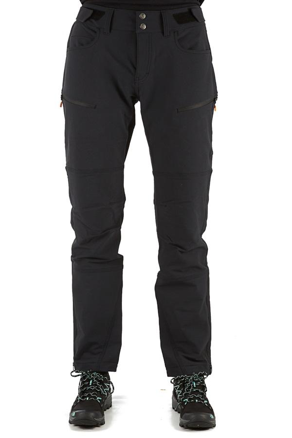 Norrona Svalbard Flex1 Pants Women's Hiking Trousers, S Caviar Black
