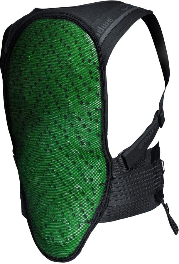 Amplifi MK II Ski/Snowboard Impact Pack, XS/S Black/Green