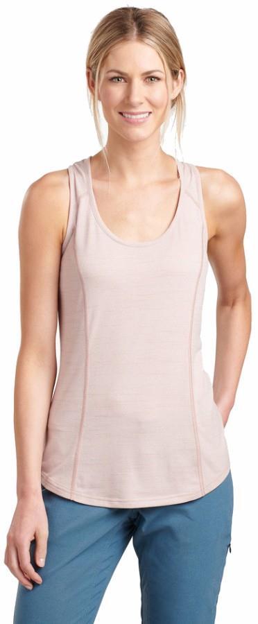 Kuhl Intent Women's Tank Top Vest, M Pale Pink