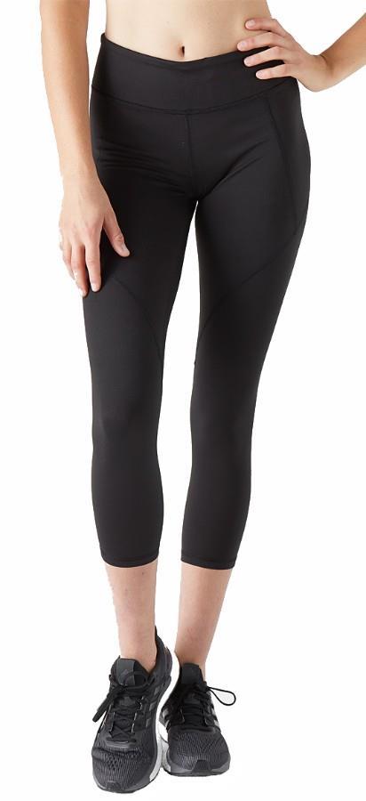 Patagonia Women's Centered Crops Yoga Pants, UK 14 Black