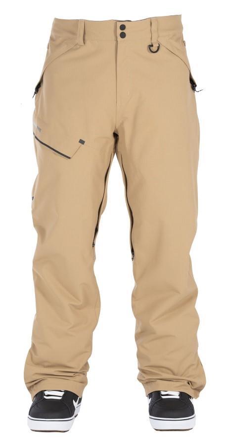 Bonfire Surface Textured Ski/Snowboard Pants, L Desert