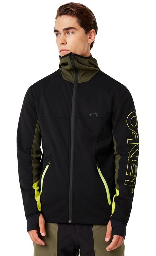 Oakley Hot Springs Thermal Mid-Layer Fleece, S Blackout