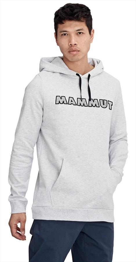 Mammut Logo ML Hoody Pullover Hoodie, L Highway Melange PRT1