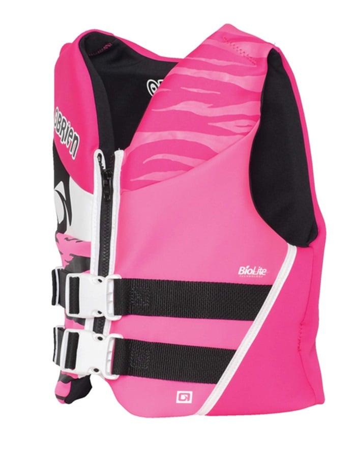 O'Brien Youth | Teen Biolite Watersports Life Jacket, Teen / XS Pink