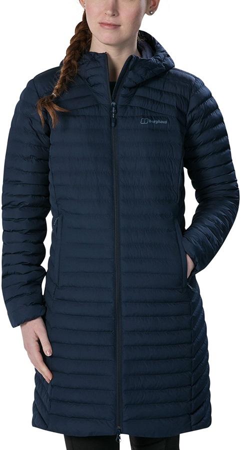 Berghaus Nula Micro Long Women's Insulated Jacket UK 10 Dusk