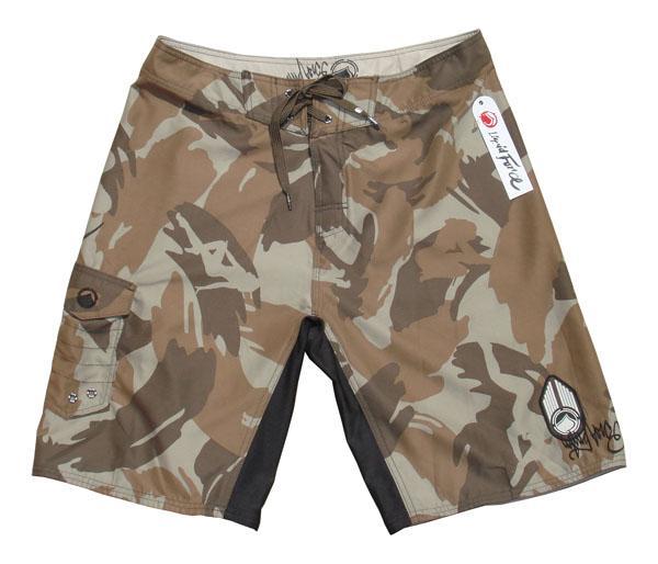 "Liquid Force WARCHILD Board Shorts 28"" / 71cm Brown Camo"