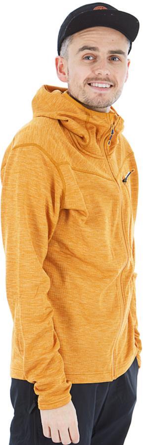 Montane Adult Unisex Protium Full-Zip Fleece Hoodie, M Inca Gold