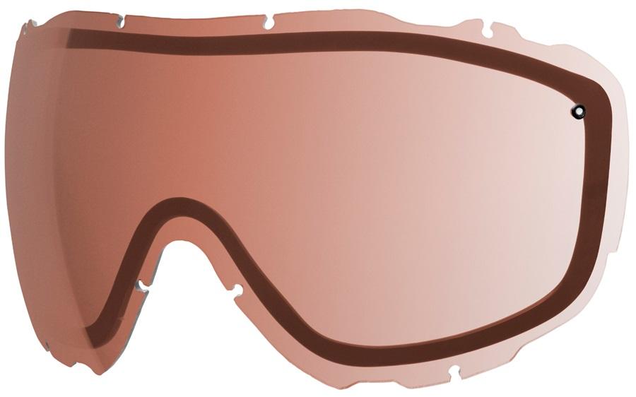 Smith Prophecy Turbo Fan Snow/Ski Goggle Spare Lens, Polarized Rose