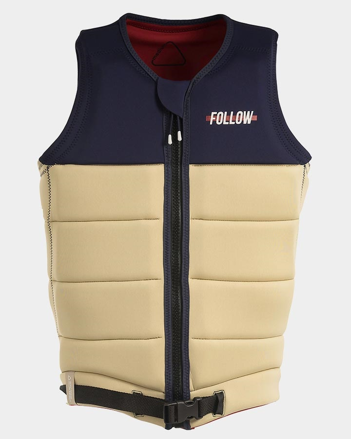 Follow Axe Pro Fit 2 Wakeboard Impact Vest, M Sand