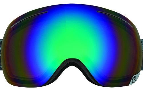 Dragon X1 Snowboard/Ski Goggle Spare Lens, One Size, Pol Flash Green