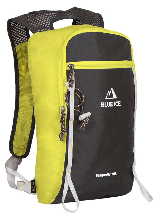 Blue Ice Dragonfly Alpine Climbing Backpack, 10L Yellow/Black