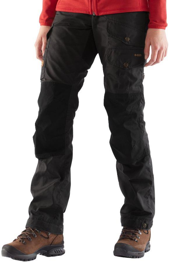 Fjallraven Vidda Pro Women's Hiking Trousers, 42 Black