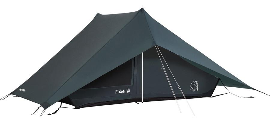 Nordisk Faxe 2 SI Lightweight Hiking Tent, 2 Man Petroleum