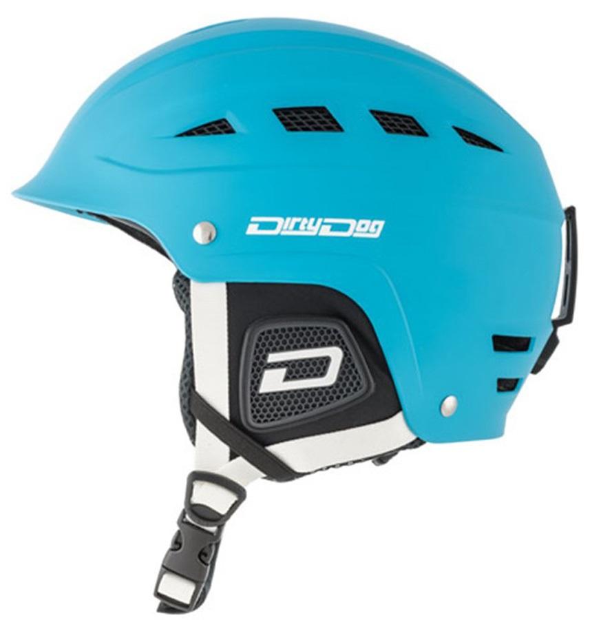 Dirty Dog UFO Snowboard/Ski Helmet, XS Blue