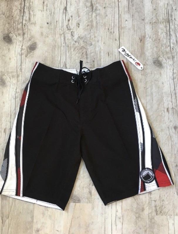 "Liquid Force Figley Board Shorts, 32"" / 81cm Waist Black"