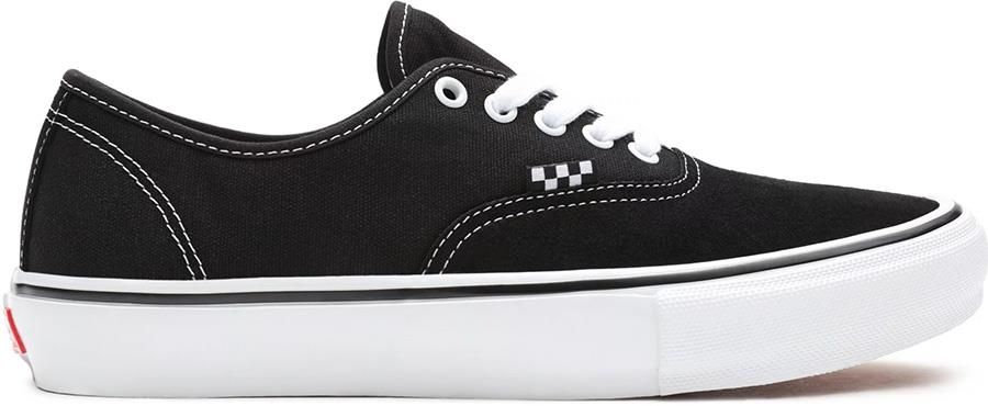 Vans Skate Authentic Trainers/Shoes, UK 8.5 Black/White