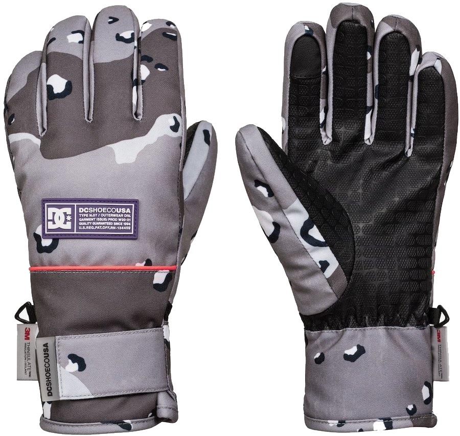 DC Franchise Women's Ski/Snowboard Gloves, M Grape
