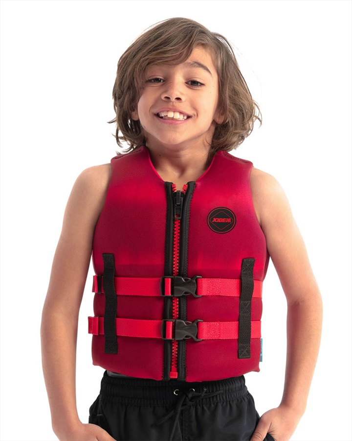 Jobe Neoprene Life Vest Kids Buoyancy Aid, 12 / 152 Red 2021