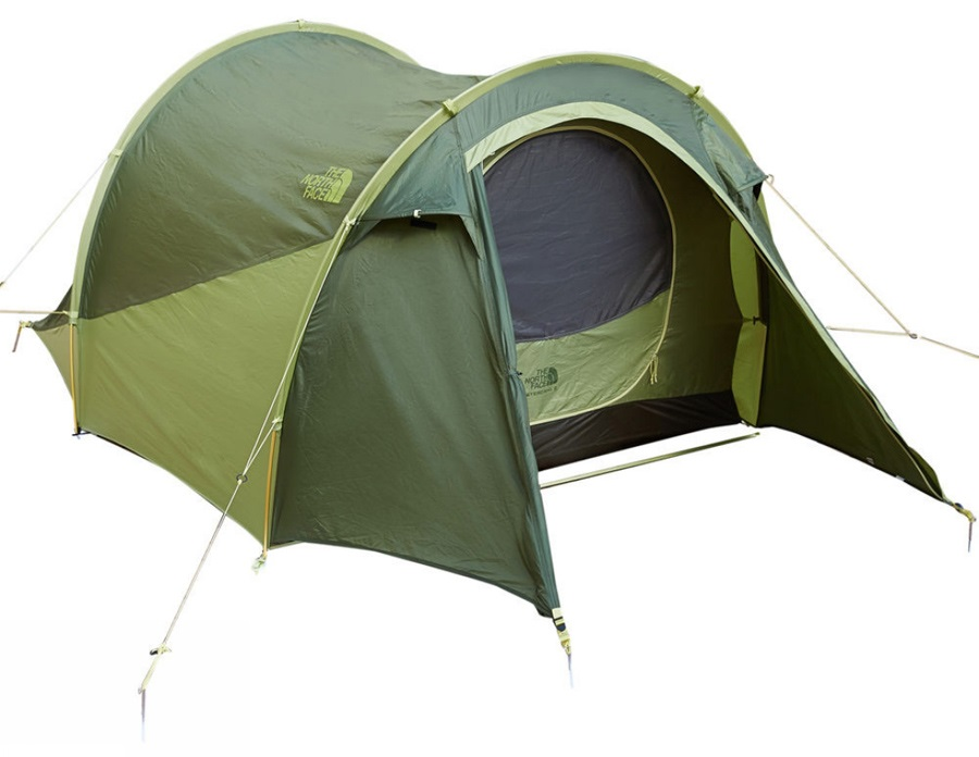 The North Face Heyerdahl 3 Camping Tent, 3 Man Taupe