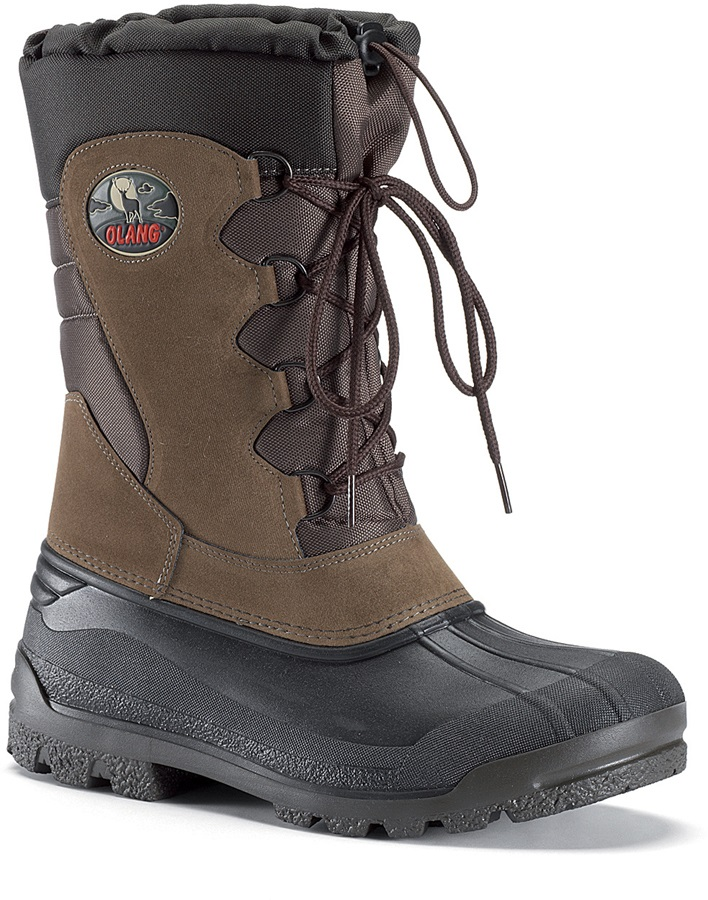 Olang Canadian Winter Snow Boots UK 10.5/11.5 Earth