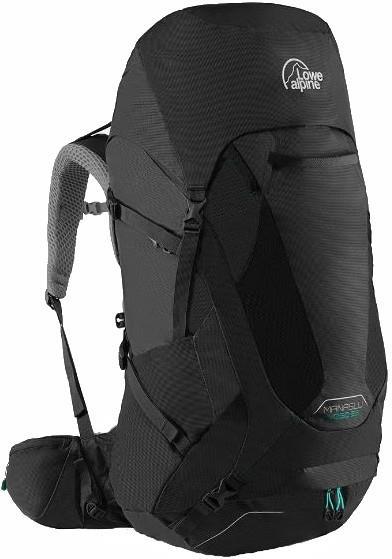 Lowe Alpine Womens Manaslu Nd65 Trekking Backpack, 50+15l Anthracite