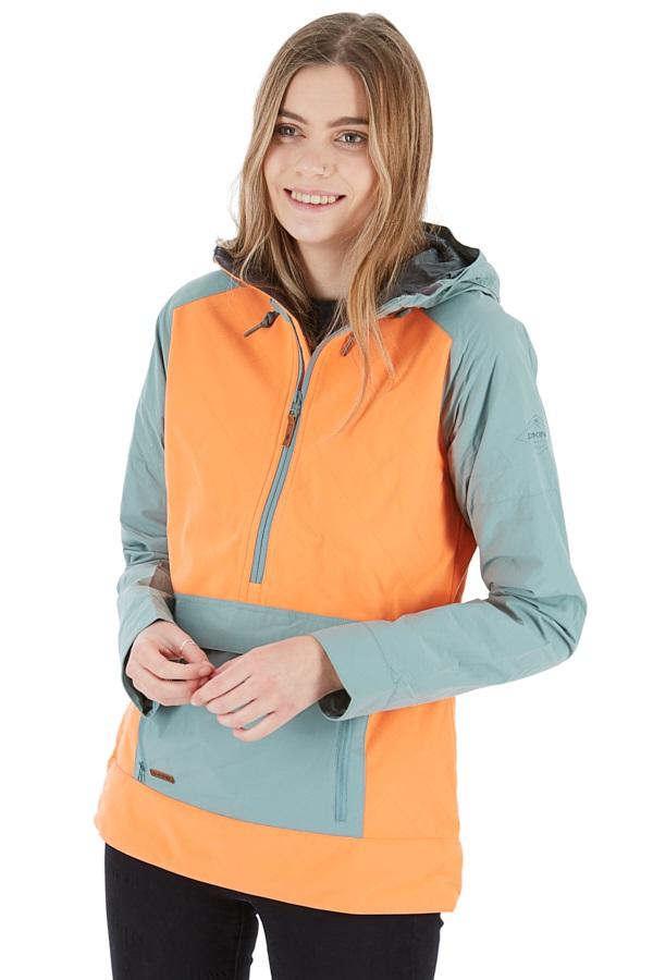 Dakine Pollox Softshell Women's Ski/Snowboard Jacket, L Coastal/Melon