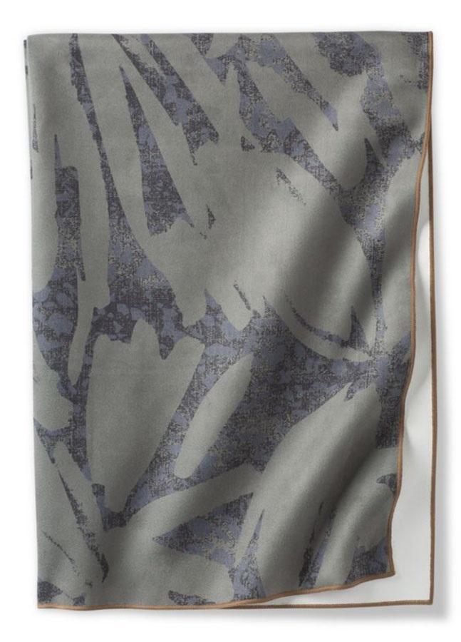 Prana Maha Yoga/Pilates Towel, One Size Rye Green La Palma