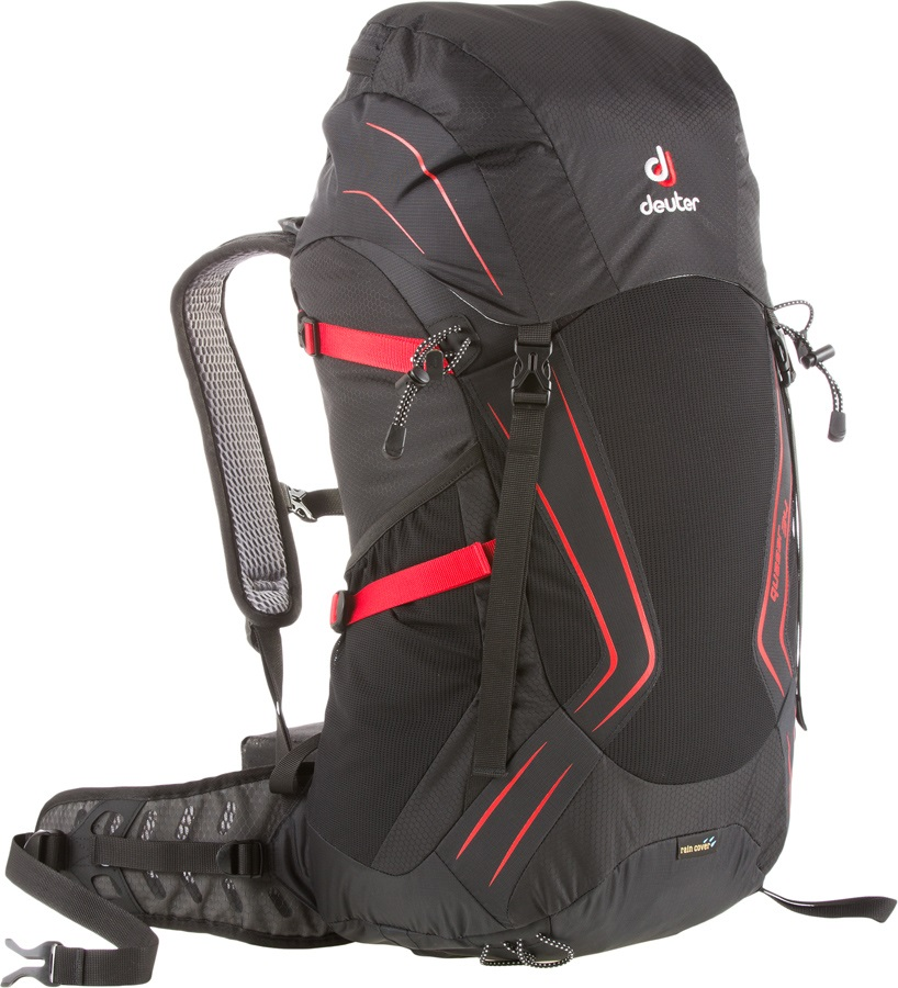 deuter Helium 34 Hiking Backpack 34L Black-Fire