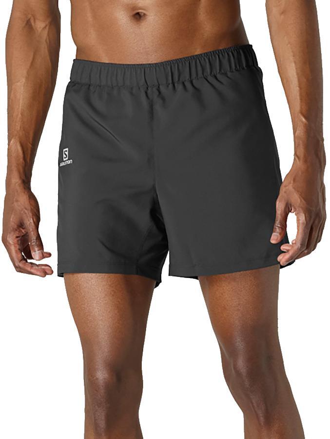 "Salomon Agile 5"" Men's Hiking/Running Shorts, S Black"