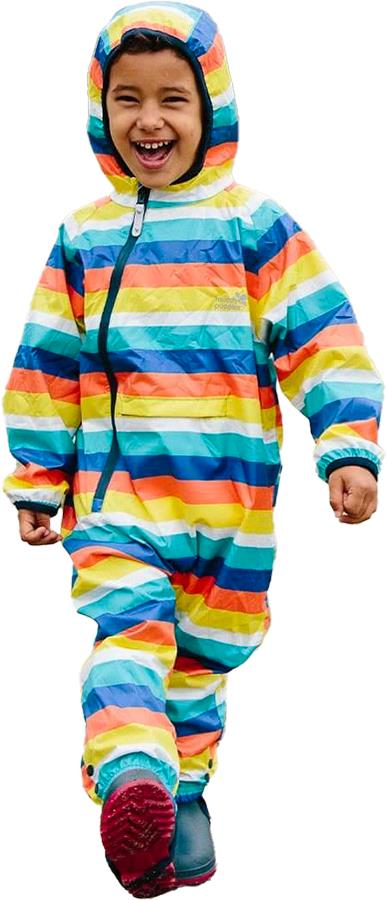 Muddy Puddles Ecolight Kids Lined Puddle Suit, 12-18mths Rainbow