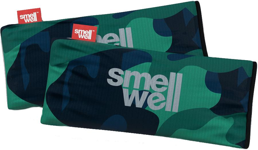 SmellWell Active XL Freshener Inserts Odour Eliminator, Camo Grey