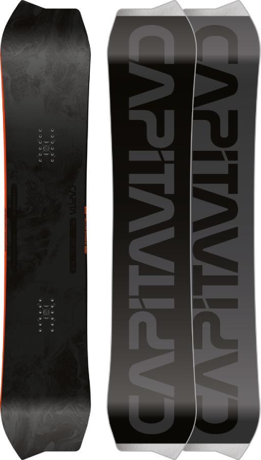 Capita The Asymulator Hybrid Camber Snowboard, 154cm 2022