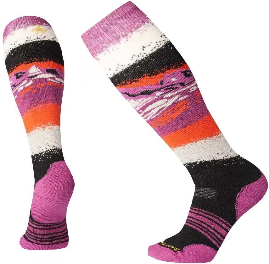 Smartwool PhD Snowboard Medium Women's Snowboard Socks, L Black
