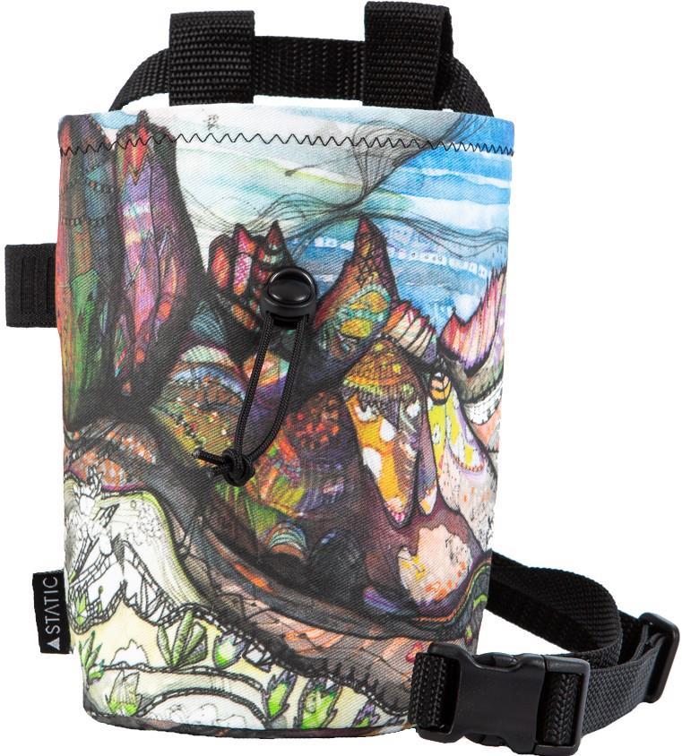 Static Artist Series Rock Climbing Chalk Bag : Wind River Mountains