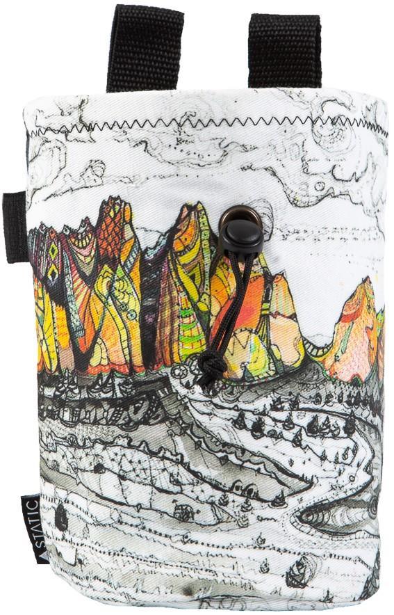 Static Artist Series Rock Climbing Chalk Bag : Smith Rock